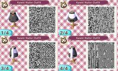 Animal Crossing: New Leaf QR Code: Kaneki Waiter by ShadowPaladinDragon