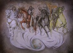 Understanding Bible Prophecy  Riders Released from the First Four Seals