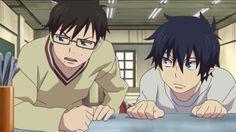 Rin and Yukio Okumura
