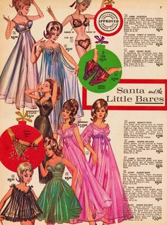"vigorton2: "" Fredrick's Of Hollywood 1965 Christmas catalog. """