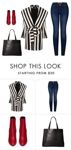 """Inspiration"" by monika1555 ❤ liked on Polyvore featuring Balmain, 2LUV, Yves Saint Laurent and SOREL"