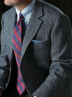 Herringbone! Perfect for fall outfits!
