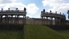 Schloss Sanssouci, Potsdam, Brandenburg, Germany