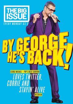 La Promotion sans apparition de George Michael continue ! Fidéle à ses engagements , George Michael a donné une interview au magazine distribué par les SDF dans les rues de Londres, THE BIG ISSUE , comme il l'a déjà fait à plusieurs reprises tout au long...