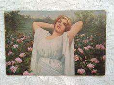 Spanish Dancer, Ship Art, Photo Postcards, Antique Art, Christmas Art, Art Deco, Romantic, Antiques, Rose