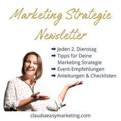 #newsletter #marketingstrategie  Möchtest Du regelmässig Tipps für Deine Marketing Strategie?  Willst Du erfahren wenn coole Summits Events und Online-Kongresse stattfinden?  Hast Du Bock darauf Marketing einfach erklärt zu bekommen?  Dann lass uns in Verbindung bleiben & melde Dich für meinen Newsletter an!  Jede 2. Woche wertvollen Input für Dein Markering und Dein Mindset für ein erfolgreiches Business-Leben.  Link in der Bio ich freue mich auf Dich!  #marketingeinfacherklärt… Coaching, Email Marketing, Online Business, Easy, Instagram Posts, Books, Movie Posters, Pitch, Events
