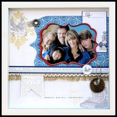 Teresa Collins - Everyday Moments layout by dt member Colette