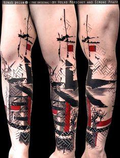 Trash Polka® Tattoo by Simone Pfaff and Volko Merschky                                                                                                                                                     More