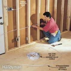 How To Rough-in Electrical Wiring