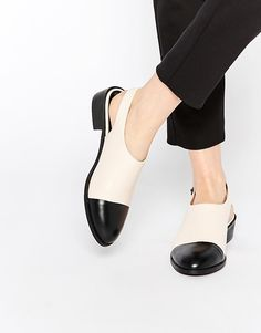 ASOS | ASOS MOMENT OF TRUTH Flat Shoes at ASOS
