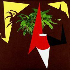 Patrick Caulfield, Room 3-95 1995 Acrylic on canvas 193 x 193 cm