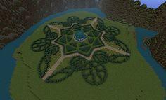 Hedge Garden Minecraft Project