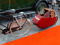 Vintage Bicycle Trailer