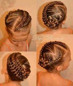 Flower girl hair!!!! Jayda you better be ready!