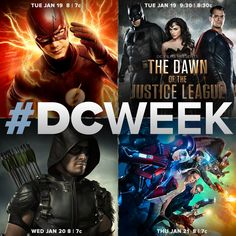 #DCWeek begins  in 7 days! Get ready for the return of #Arrow Wednesday, January 20! at 8/7c!
