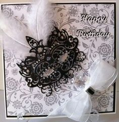 Mask die by Tattered Lace Dies. Visit www.tatteredlace.... for available stockists. Card designed and submitted by June Smith.