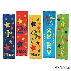 Ribbons for stick horse games?