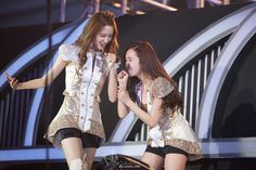 SNSD YoonA and Jessica