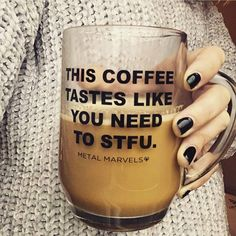 Hope you're able to enjoy your coffee in peace. Hope you're able to enjoy your coffee in peace. Coffee Is Life, I Love Coffee, My Coffee, Coffee Cups, Tea Cups, Funny Coffee Mugs, Coffee Humor, Funny Mugs, Coffee Quotes