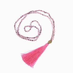 V.YA Gold Color Buddha Necklaces Women's Tassel Necklace Boho Jewelry Weaving Long Necklace Bijoux Femme