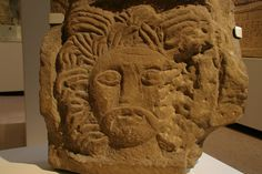Celtic Stone carving of Sol