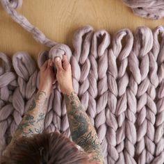 Xxl Stricken Decken Schals Kissen Oder Pullover Aus