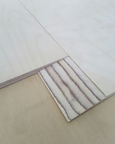 Birch plywood scarf joint panels
