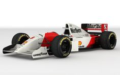 McLaren MP4-8 (1993 Senna's Car)