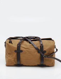 Medium Duffle Bag in Tan
