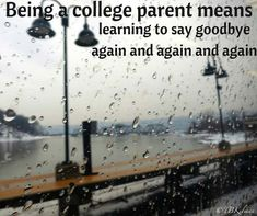College parents say goodbye