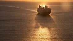 Ferry in sunrise Greek Islands, More Photos, Greece, Sunrise, Celestial, Outdoor, Greek Isles, Greece Country, Outdoors