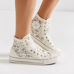 Urban Outfitters x Converse Lace High Top Sneaker How To Lace Converse 6316526ef