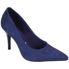 #Scarpin Vizzano #Nobuck Azul #Blue #Shoes