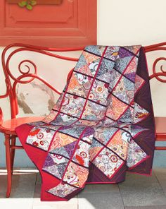 Gelato by Valori Wells (from Quilt Trends Magazine Summer 2014 issue, on sale now)  www.quilttrendsmag.com