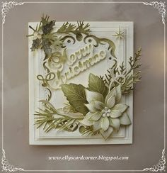 Elly's Card- Corner: Merry Christmas.
