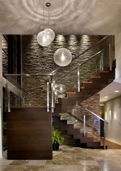 #stairs #modern #hall