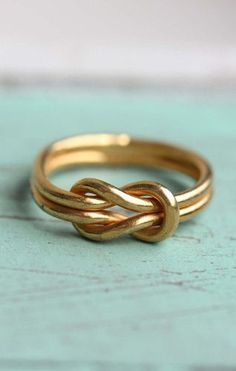 Sailor Love Knot Ring <3