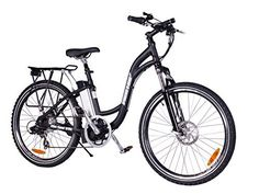 XB-305Li Lithium Electric Step Thru Mountain Bicycle, Black - http://www.bicyclestoredirect.com/xb-305li-lithium-electric-step-thru-mountain-bicycle-black/