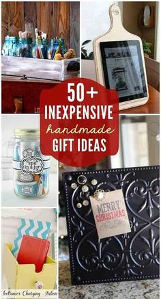 50+ Inexpensive DIY Gift Ideas For Any Occasion - Living Green And ...