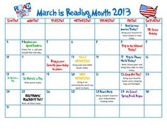This is a great idea to put in for any month so you can get your kids excited about the next book you're either going to read together or to them.