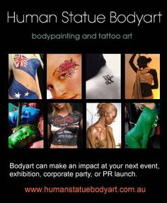 Human Statue Bodyart Creative Art, Body Art, Product Launch, Statue, Artwork, Logo, Body Painting, Work Of Art, Logos