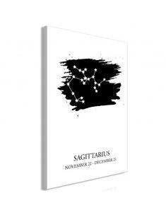 Obraz - Znaki zodiaku: Strzelec (1-częściowy) pionowy Sagittarius