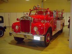 Mack Fire Truck 1960                                                                                                                                                                                 More