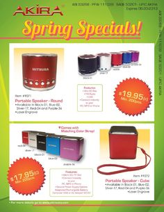 2013 Spring Sale Catalog from Akira Sales Intl