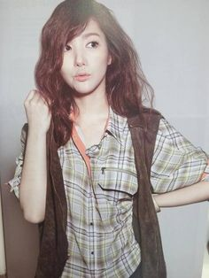 Park Min Young. omo so adorably disheveled