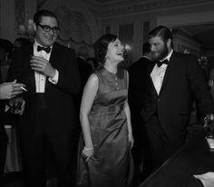 Peggy Olson (Elisabeth Moss), Stan Rizzo (Jay R. Ferguson) and Harry Crane (Rich Sommer). Season 6