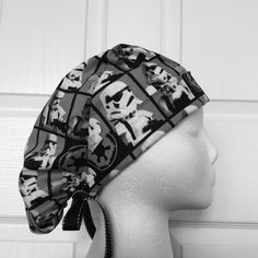 Stormtrooper Tie Back Scrub Hat
