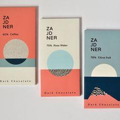 beautiful color palette & minimal geometric branding