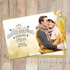 Save The Date Postcard, Save The Date Magnet, Save The Date Card, Printable Save The Date, Custom Colors, Photo