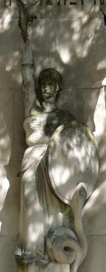 Gaston Dintrat : Monuments aux Morts, Romans-sur-Isère (Drôme, France)